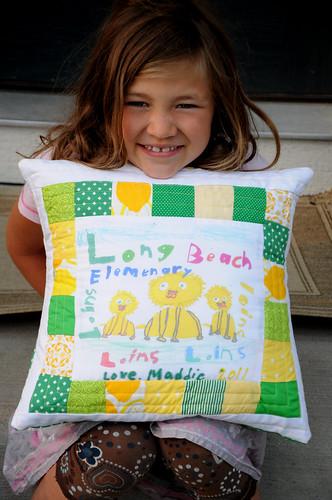 Maddie's pillow