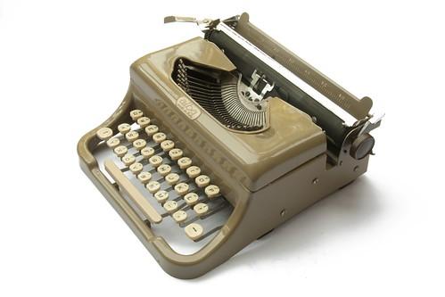 alba typewriter