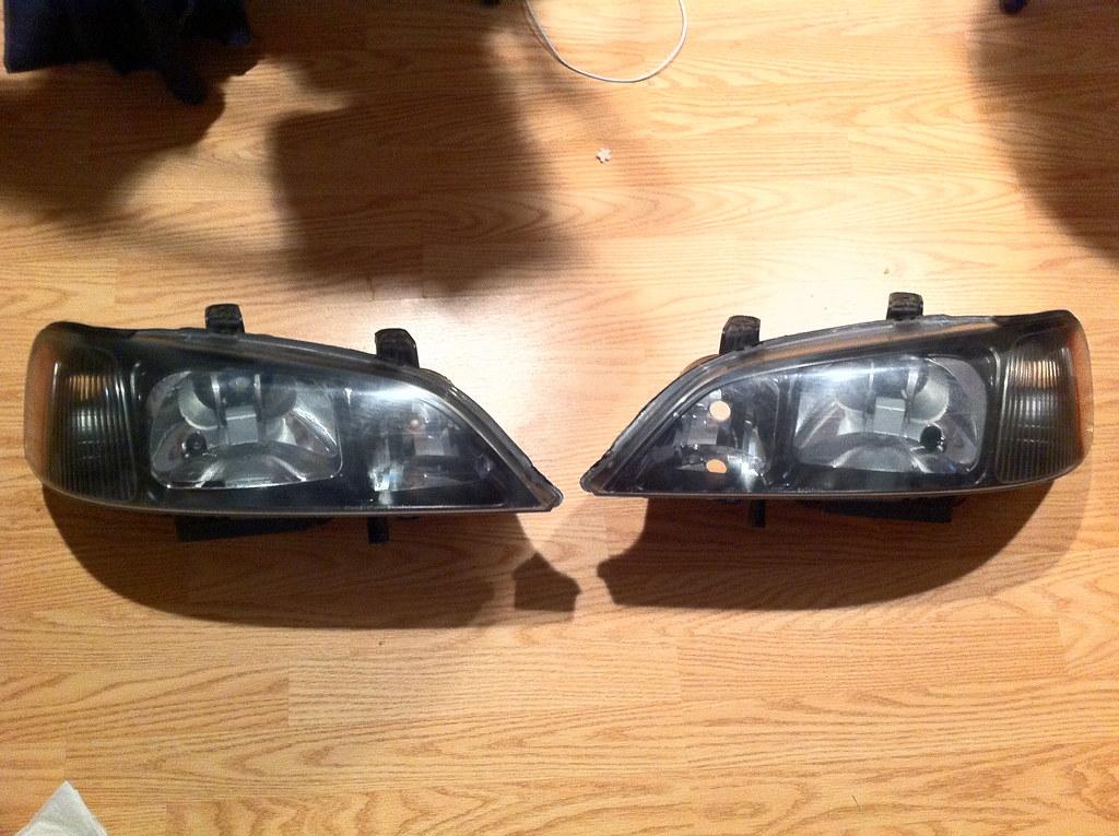 CLOSED G TL JDM Black Headlights OEM Headlights - 2001 acura cl headlights