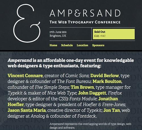 Ampersand info