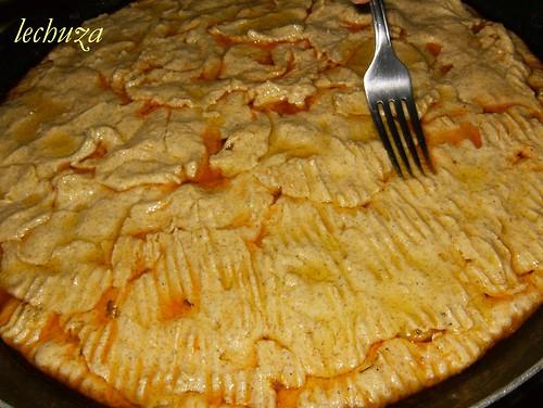 Empanada -maiz de zamburiñas-unir masa.