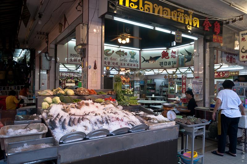 Рыбные ресторан в Хат Яе