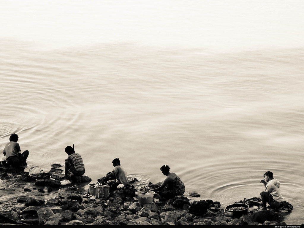 缅甸曼德勒。湄公河