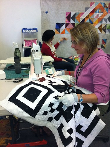 Quilting the QR by Poppyprint
