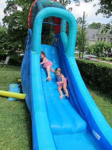 The slide.