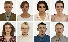 Mil caras / 0 caras / un rostro -Thomas Ruff