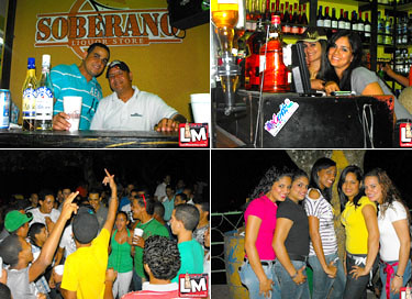 Domingo full @ en Soberano Liquor Store