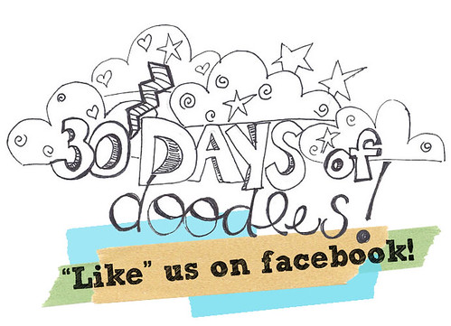30 Days of Doodles on Facebook!