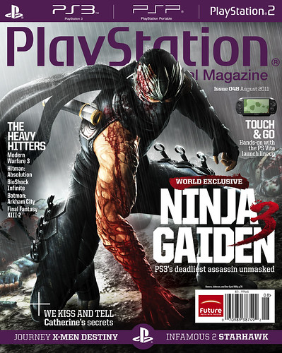 PlayStation: The Official Magazine: August 2011: Ninja Gaiden 3