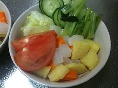 朝食サラダ(2011/6/30)