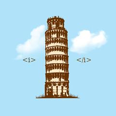 <i>pisa</i> (kooky love) Tags: tower pisa lafraise i