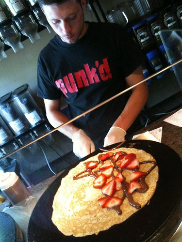 Crepes at Plymouth Bean