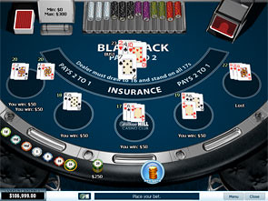 Blackjack 5 Hand Win