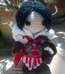 002 (violet ryan) Tags: doll crochet amigurumi creed ezio assassins auditore sackboy