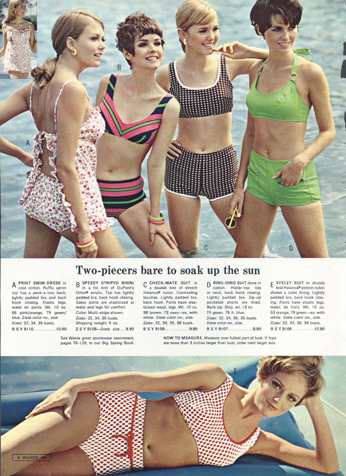 285ee829c9733 Retrospace: Catalogs #11: Swimsuit Catalog Pages (and How You'd Like to See  Them)