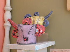 W. Reiss (Ant Ware) Tags: art ceramic ceramics handmade pottery teapot