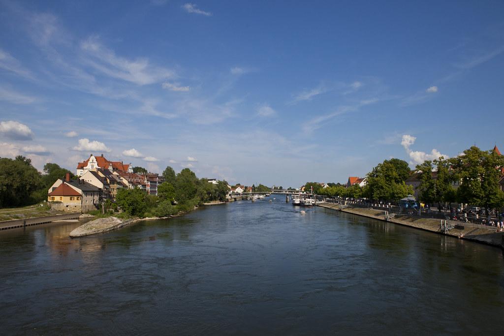 Danube under Regensburg