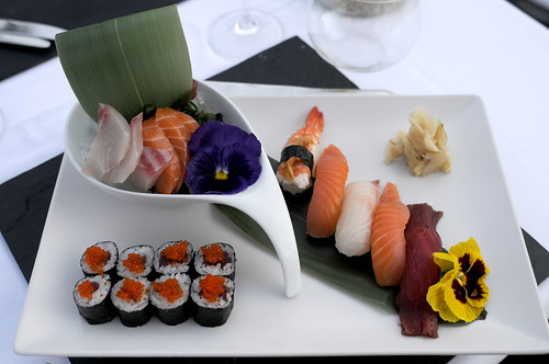 Dish of the day: Supperclub Novum Ibiza sushi and sashimi mixed platter