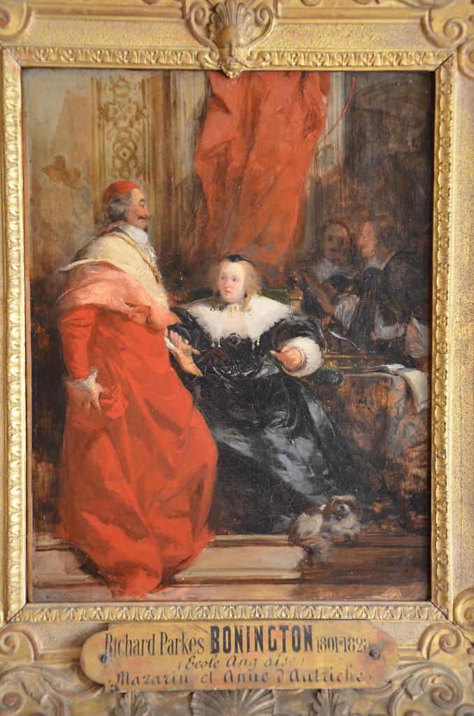 Anne d'Autriche et Mazarin - Richard-Parkes Bonington