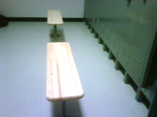 Locker Room  Benches 210 West 29th St NYC by Gale's Industrial Supply