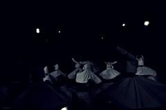 Whirling in the Dark (Electra K. Vasileiadou) Tags: bw monochrome turkey nikon asia europe islam religion middleeast ottoman sufism konya whirlingdervishes mevlana greekphotographers ηλέκτρα έλληνεσφωτογράφοι d3100 electravk