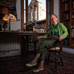 Karen Swenson, Poet (Lee Harris.) Tags: barcelona american poet interview karenswenson metropolitanmagazine ravalapt