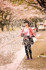 A Cloud of Petals (DMac 5D Mark II) Tags: street camera travel flowers people woman cloud news tourism nature girl beautiful canon lens cherry asian eos yahoo petals spring google asia pretty natural mark south blossoms korea images korean ii 5d douglas jeju baidu macdonald reviews naver daum fredmiranda wwwfredmirandacom instagram