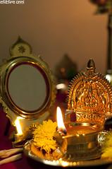 Happy Vishu (  Chithra Unni  ) Tags: light lamp nikon shine mirro vishu d90 aranmula vilakku chithraunni