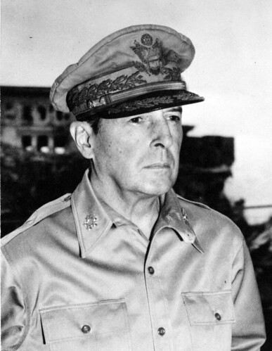 Photograph of Douglas MacArthur, ca. 1945