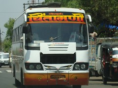 Chintamani Travels. (Ram CBS NGP) Tags: buses private trucks nagpur apsrtc msrtc