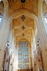 Bath Abbey III (jonhuskisson) Tags: church abbey bath worship bathabbey placeofworship singleexposure singleexposurehdr