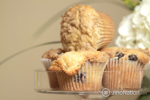 Mini Blueberry Muffins