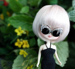 We're back from las Vegas! (pure_embers) Tags: uk las vegas holiday cute girl sunglasses garden doll dolls little dal mini pullip humpty dumpty pure embers