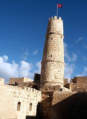 Ribat tower Monastir (melissaenderle) Tags: architecture ancient northafrica tunisia fortress monastir ribat