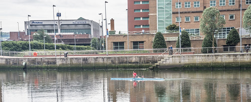 Belfast - Rowing On The River Lagan