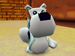555758-white_bear_16 (furballs_dc) Tags: pc village screen beta polarbear prototype dreamcast alpha furballs rumpusroom furfighters dinotopolis newquackcity undermill