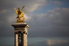 Reach for the stars (Mike Franks) Tags: bridge paris france statue golden pegasus sword ornate plinth gilt pontalexandreiii 70200mm