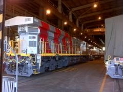 IMG_0612 (Red Dog Photography) Tags: train riotinto rail australia mining locomotive ge railways ore karra