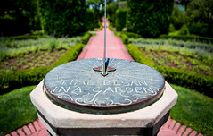 Week 24: Filoli Gardens (jbone66 (Jay B)) Tags: california shadow sun clock unitedstates dial 2012 redwoodcity filoli filoligardens week24theme 522012 52weeksthe2012edition weekofjune10 filoligardensweek24