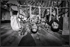 Play time (ujjal dey) Tags: blackandwhite streets kids hyderabad ujjal manikonda ujjaldey