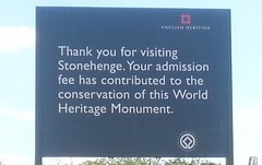 "Stonehenge welcome sign • <a style=""font-size:0.8em;"" href=""http://www.flickr.com/photos/9840291@N03/14214002190/"" target=""_blank"">View on Flickr</a>"