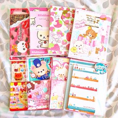 modes4u haul (ii). (JU671NE) Tags: cute paper stickers sanrio kawaii stationery crux qlia fortissimo sanx kamio mindwave poolcool cramcream lemonco stickersacks stickerflakes