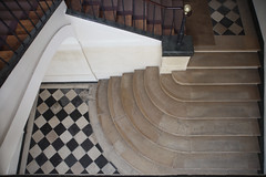 Place des Vosges stair (R. O. Flinn) Tags: paris architecture stairs interior stairway escalier placedesvosges