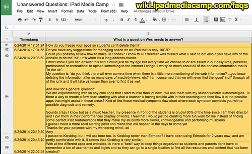 Unanswered Questions: iPad Media Camp by Wesley Fryer, on Flickr