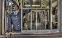 Swindon Steam Museum 10 (Darwinsgift) Tags: swindon steam museum greay western railway hdr photomatix nikkor 20mm f18 g nikon d810 waxworks