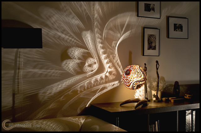 Gourd Lamps by Calabarte