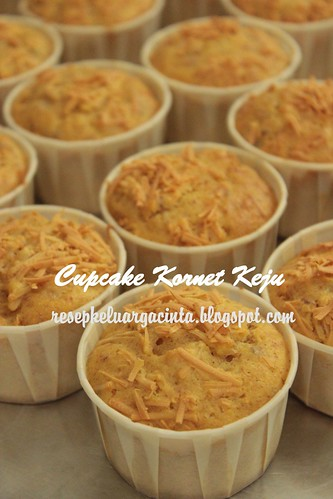 Cupcake kornet keju Afrida