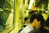 Subway (a l e x . k) Tags: new york nyc film subway pentax bokeh manhattan lx fa43mmf19