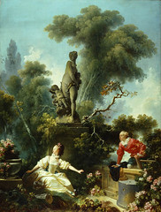 'The Meeting' (The Progress Of Love Series) Jean-Honor Fragonard, 1771-1772 (pheli) Tags: art painting 18thcentury rococo 1700s themeeting 1772 1771 jeanhonorfragonard