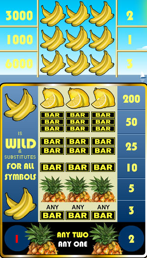 free Tropical Punch slot game symbols